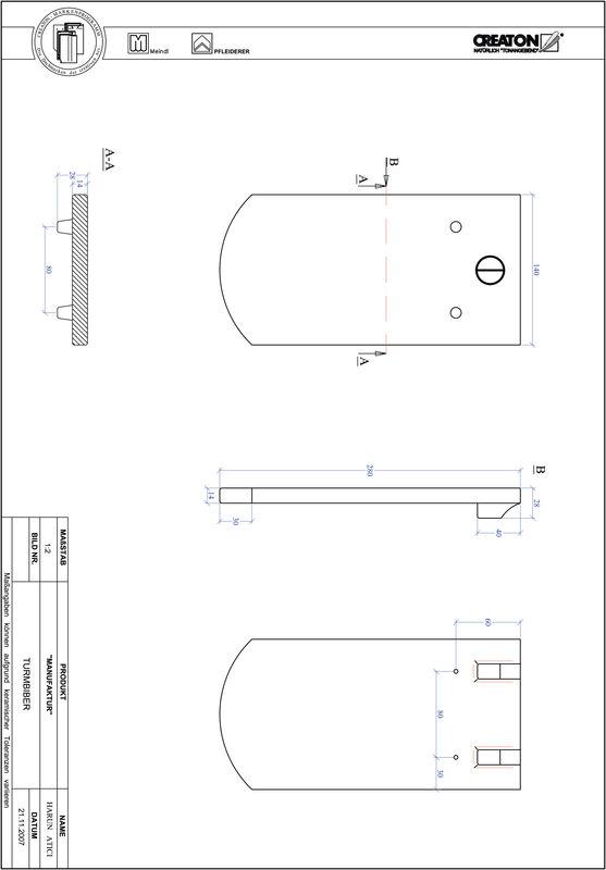 Súbor CAD škridly MANUFAKTUR segmentový vzor TURMBIBER