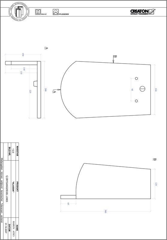 Súbor CAD škridly KLASSIK zaoblený vzor RUND-OGL-1-1-4