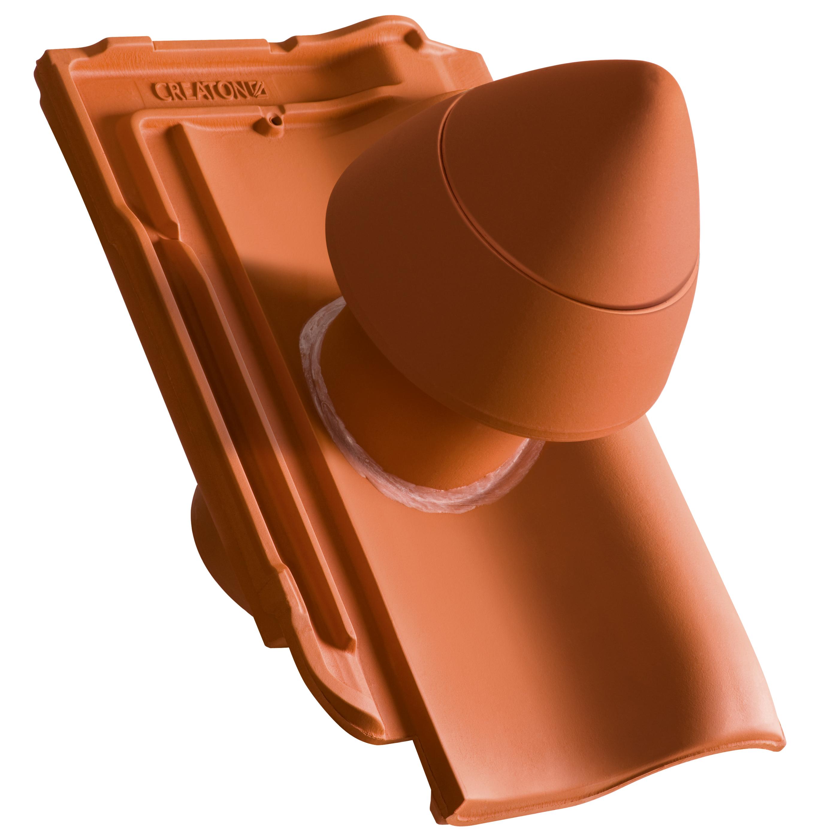 Keramický sanitárny odvetrávací komín SIGNUM Ø 100 mm s flexibilnou prípojkou