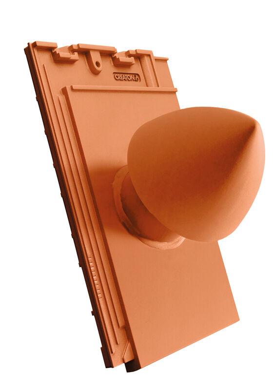 SIM keramickýkomín odvzdušňovací pre sanitárne odvetranie SIGNUM DN 100 so skrutkovaným vekom, s flexibilnou prípojkou (s adaptérom)