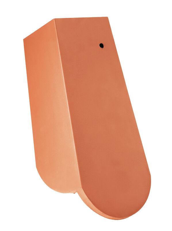 KLASSIK zaoblený tvar, krajná škridla 3/4 pravá s dlhým bočným zalomením cca 11 cm