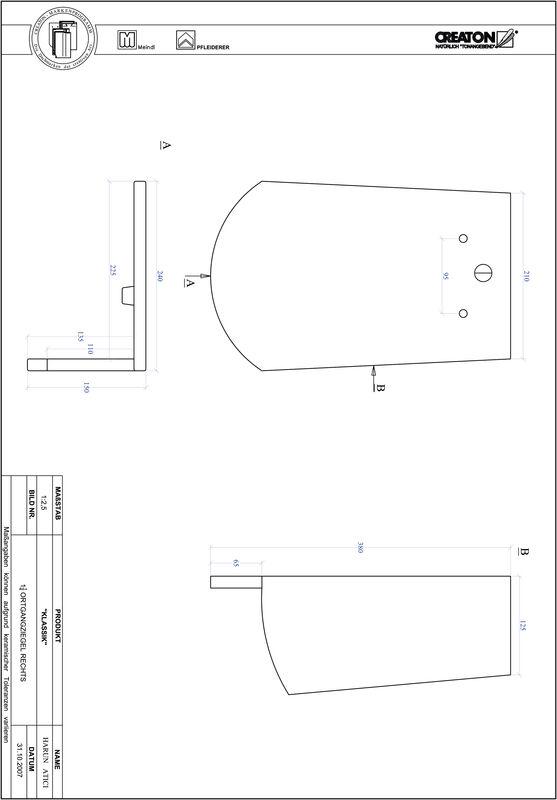 Súbor CAD škridly KLASSIK zaoblený vzor RUND-OGR-1-1-4