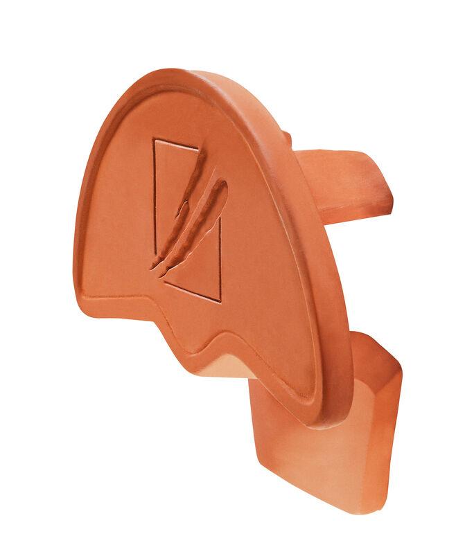 HÖN keramický uzáver hrebeňa začiatočný/koncový PV