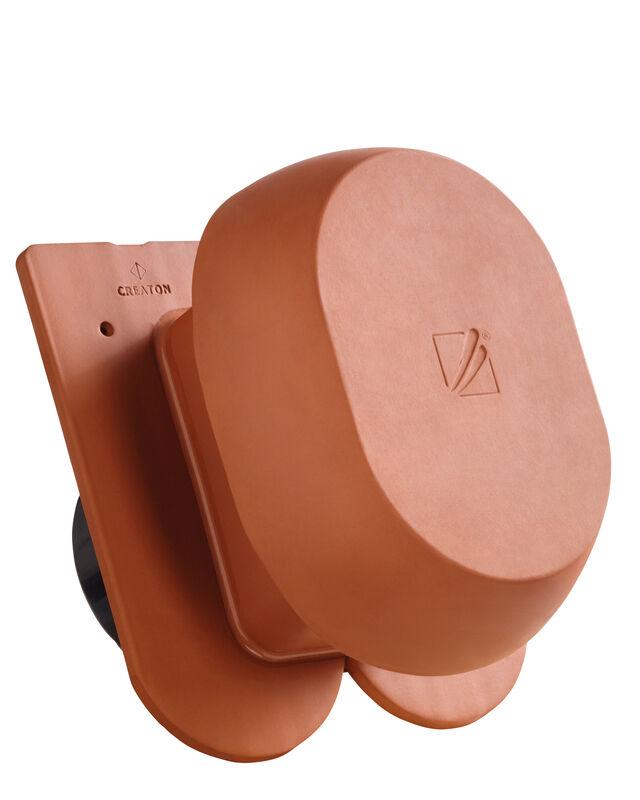 KLASSIK zaoblený tvar, keramickýodvetrávací komín DN  200 mm s adaptérom SIGNUM