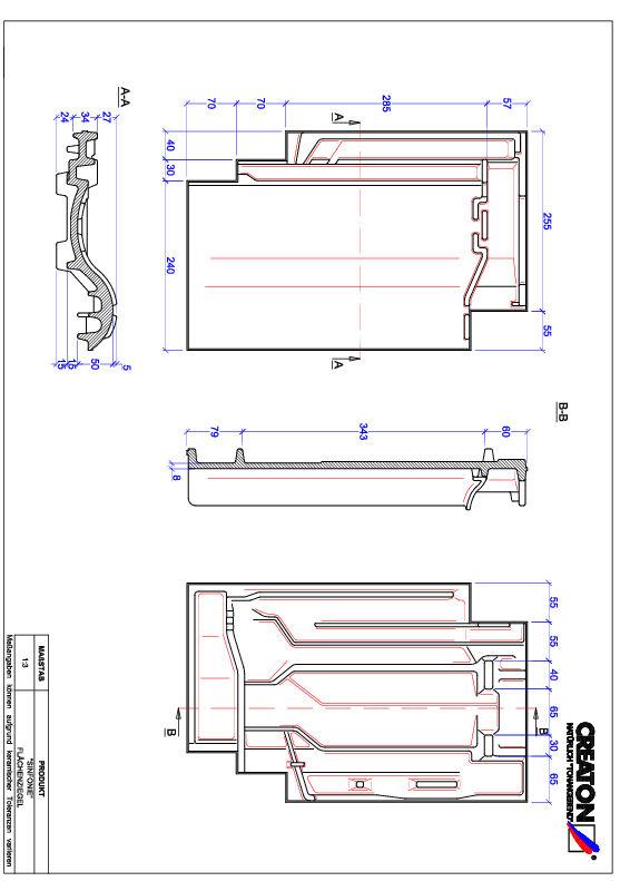 Súbor CAD škridly SINFONIE škridľa FLA