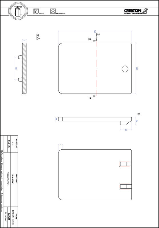 Súbor CAD škridly KLASSIK zaoblený vzor RUND-TRAUFZIEGEL