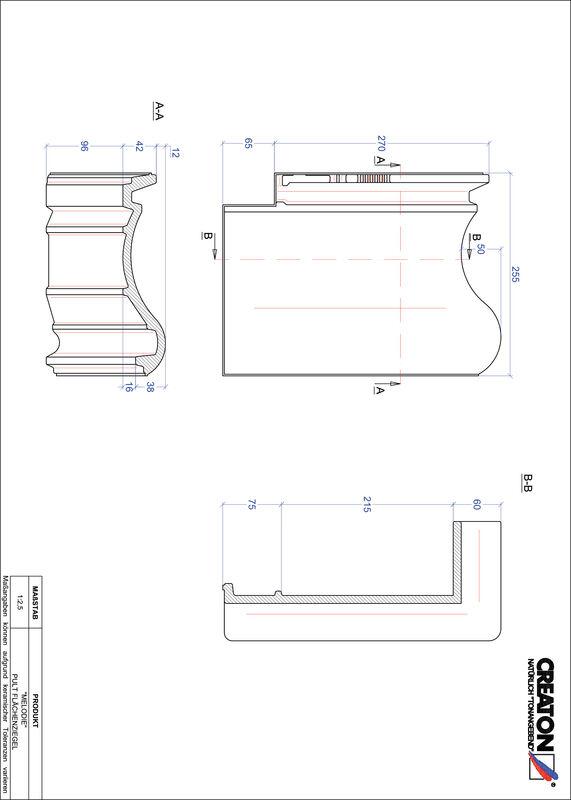 Súbor CAD škridly MELODIE pultová škridľa PULTFLA