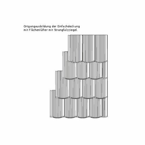 Technický výkres škridly PROFIL OGAusbildung-Laengshalber