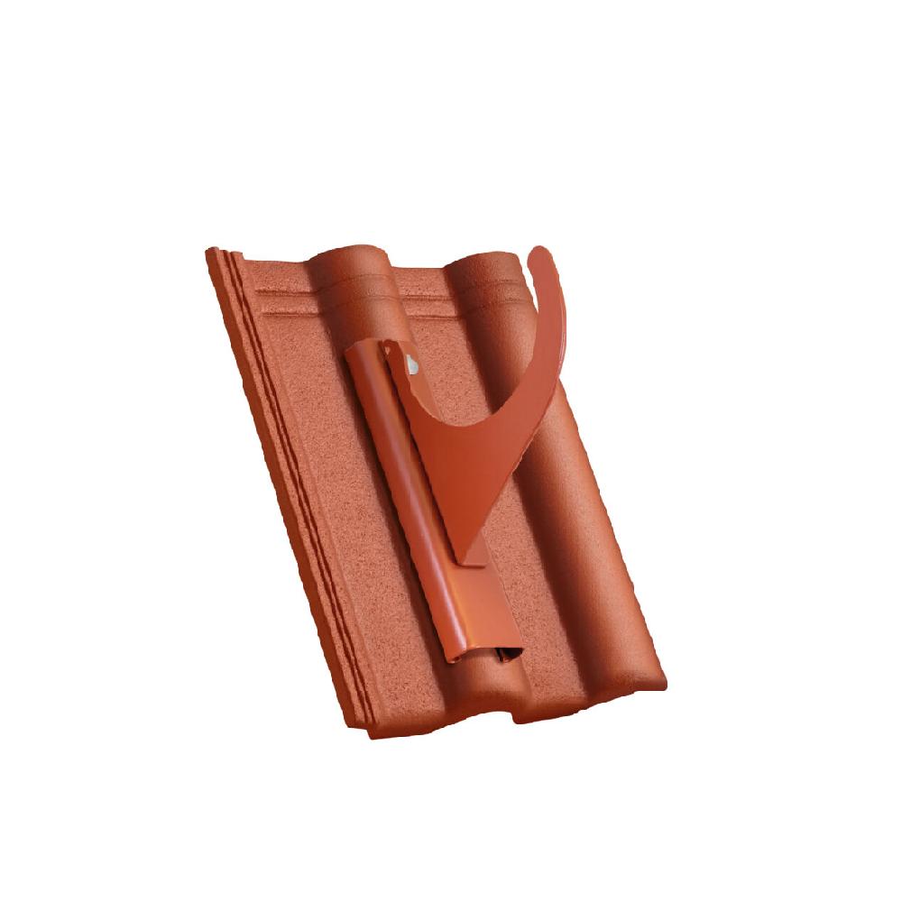 Škridla s hákom na drevené guľatiny 140 mm