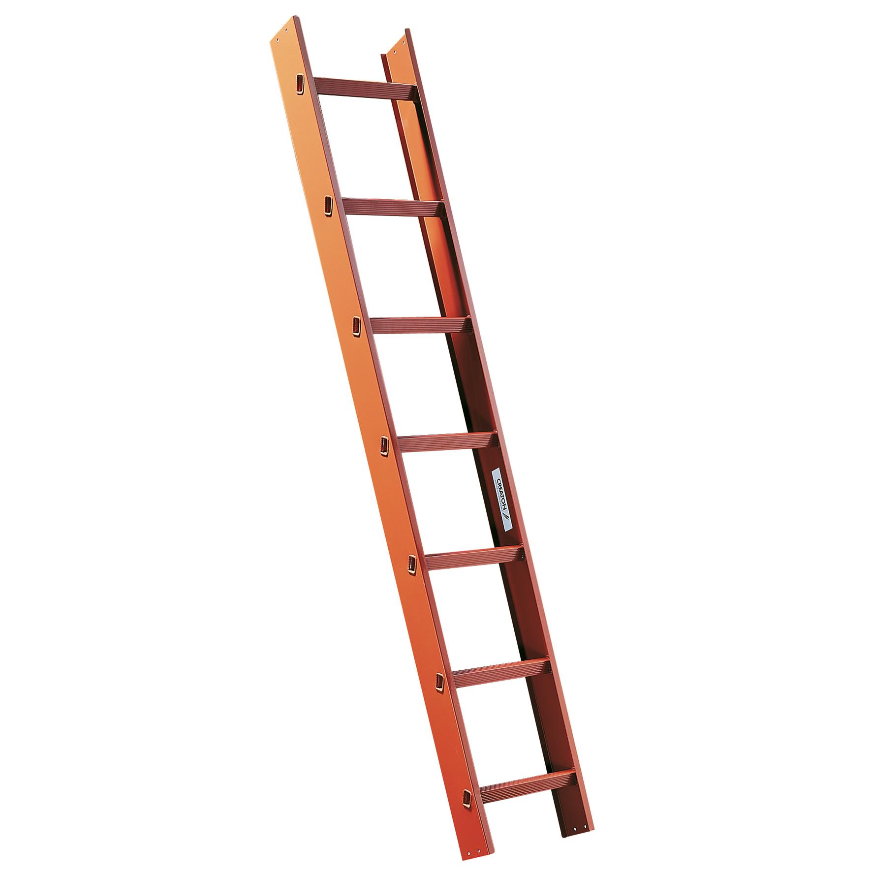 Hliníkový rebrík s dĺžkou 168 cm so spojkami
