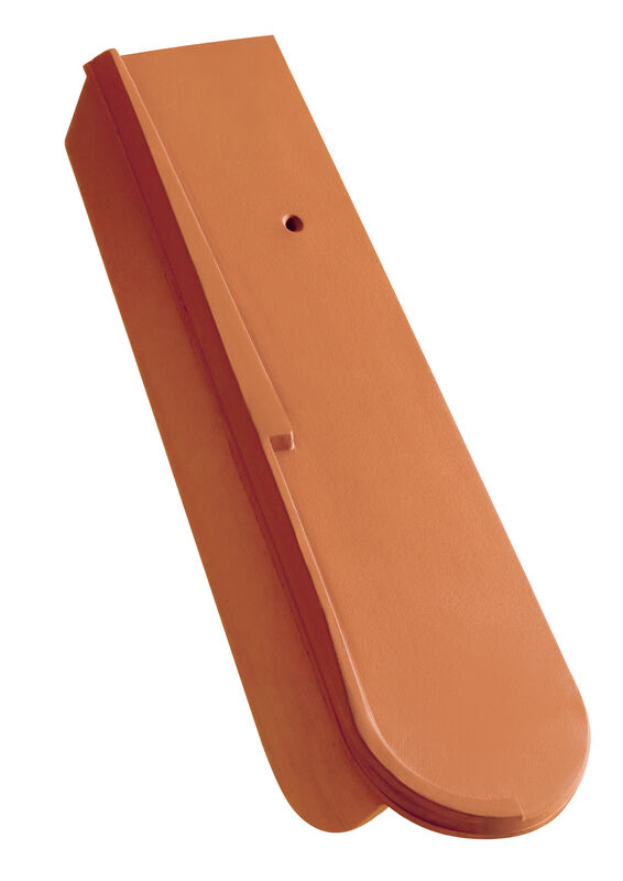 Krajná škridla posuvná s krátkym bočným zalomením pravá (5 cm)