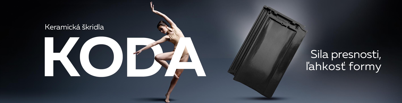 KODA - Elegantná škridla s dokonalými proporciam
