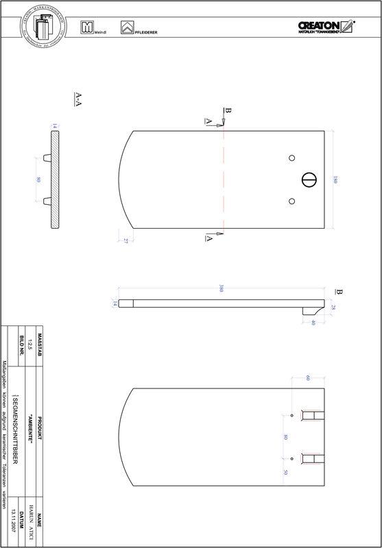Súbor CAD škridly AMBIENTE segmentový rez SEG-1-1