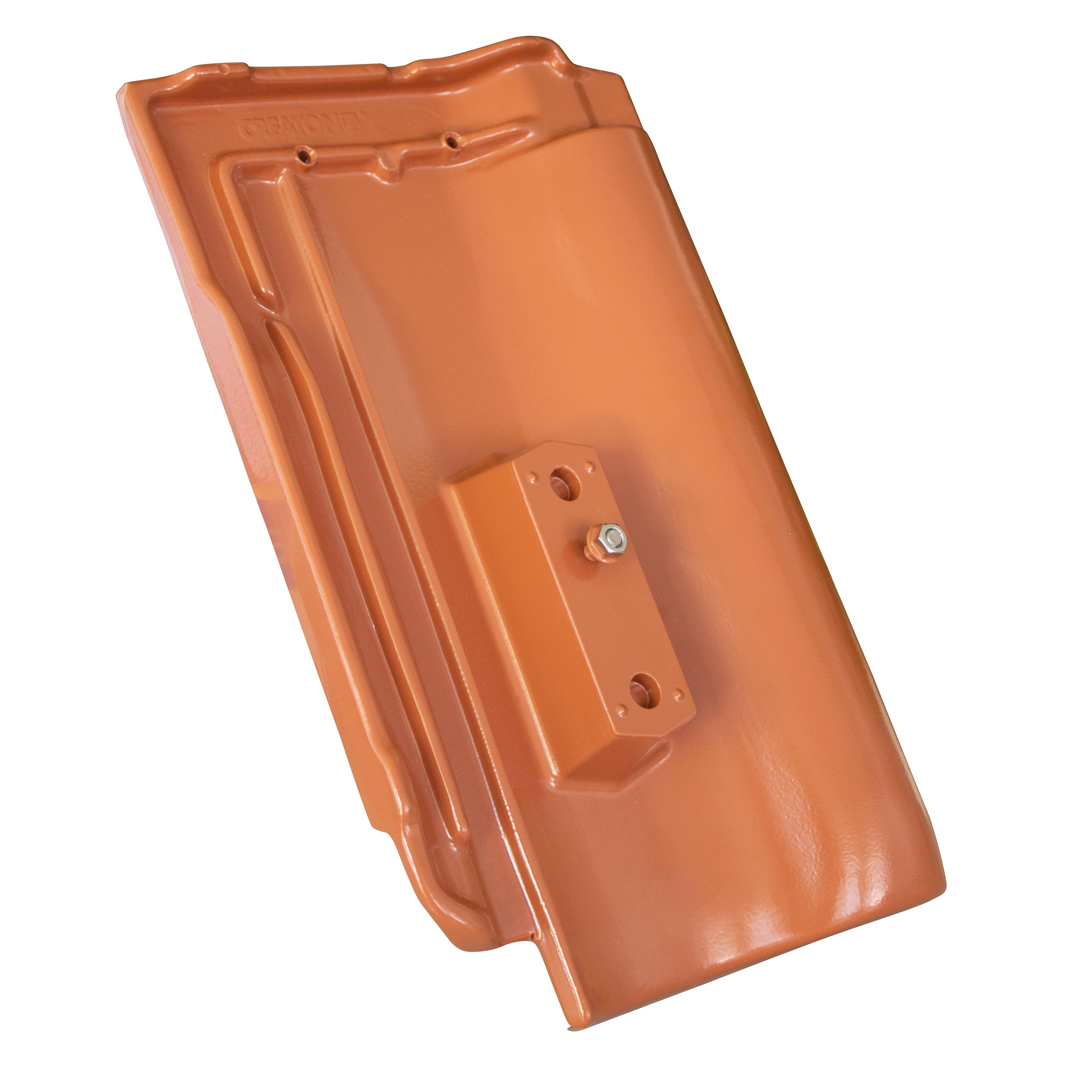 HARMONIE Základná hliníková škridla vo farbe škridly