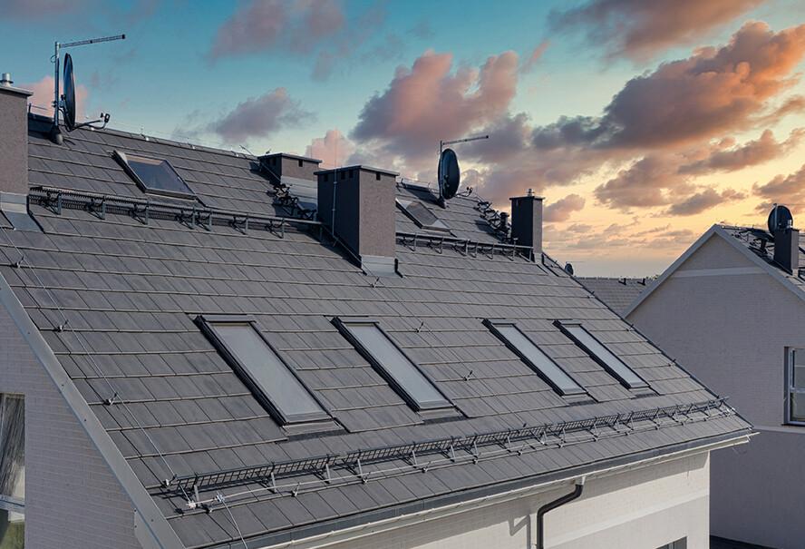 Betónové škridly – vysoký štandard a súčasné riešenia