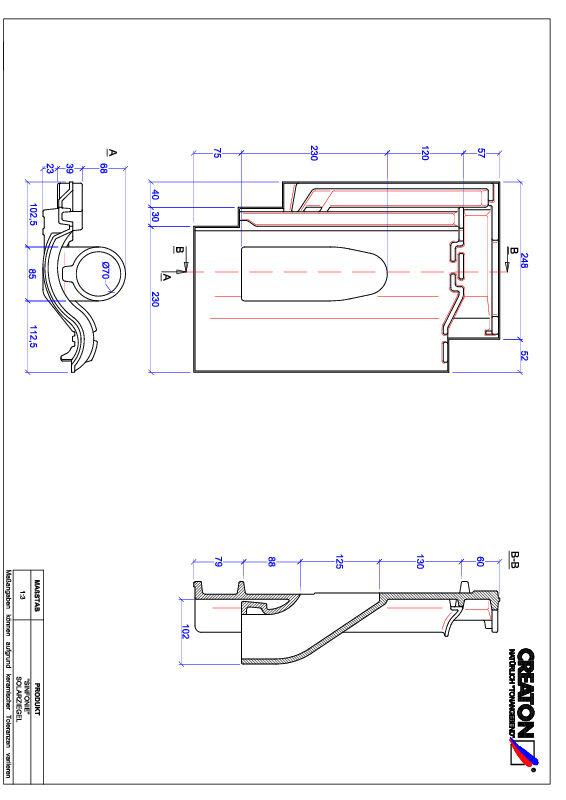 Súbor CAD škridly SINFONIE prestupová škridľa na solárne systémy SOLAR