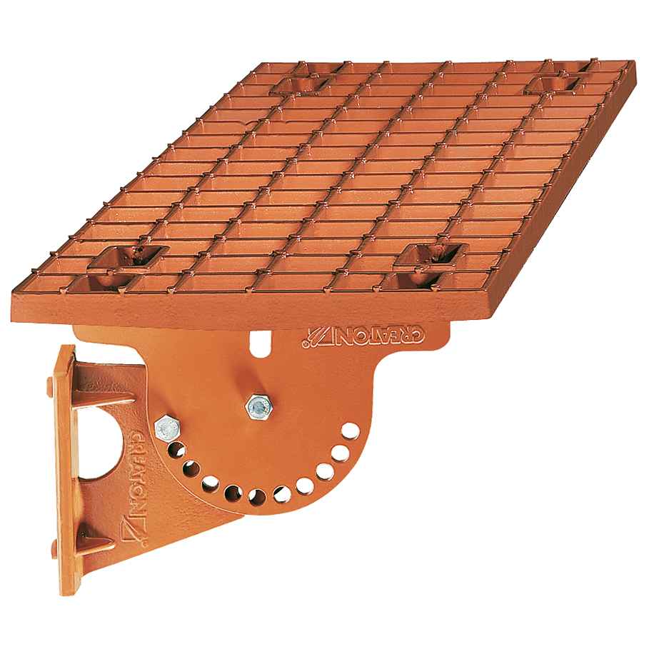 Kominárska lávka – 2 typy, kratšia a dlhšia (montáž na 2 hliníkových základných škridlách)