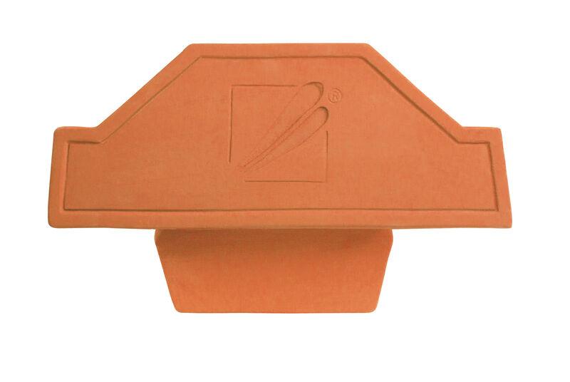 WID keramický uzáver hrebeňa začiatočný/koncový PS